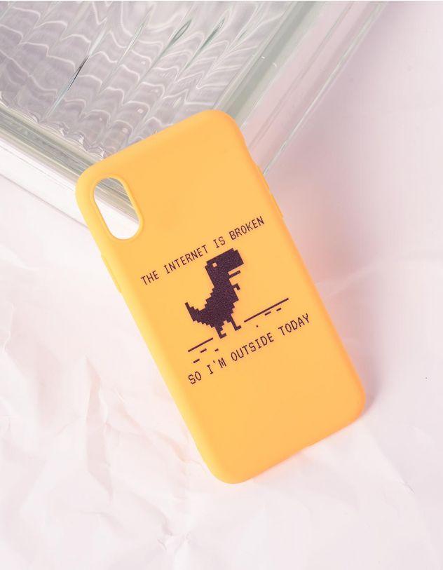 Чохол для телефону з принтом динозавра | 240758-19-56 - A-SHOP
