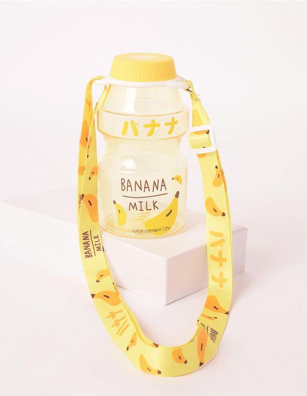 Пляшечка з ремінцем та фруктовим принтом | 246394-19-XX - A-SHOP