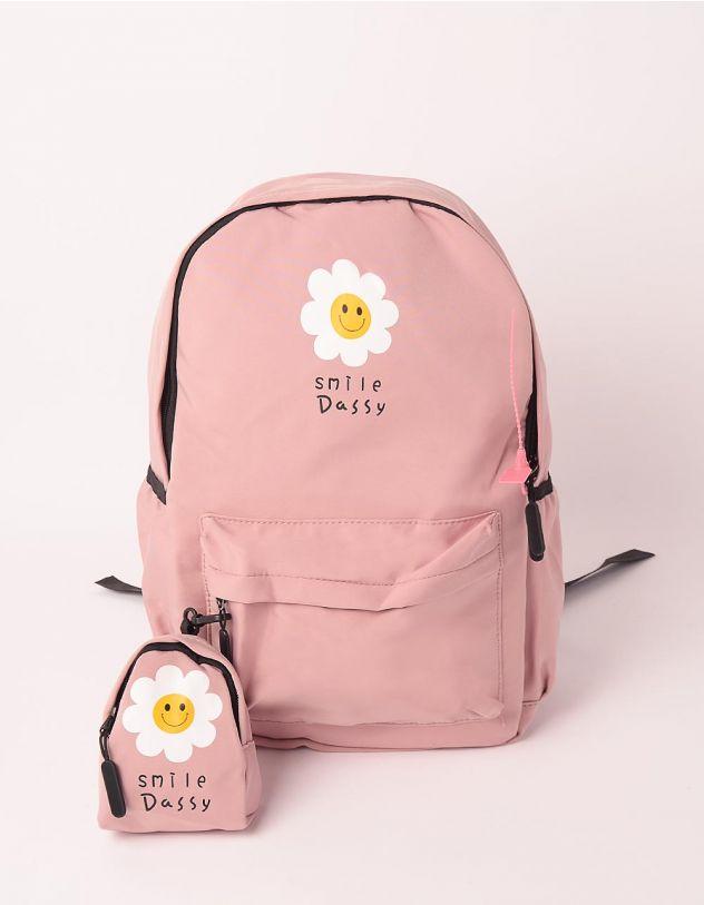 Рюкзак для міста з ромашками | 248984-14-XX - A-SHOP