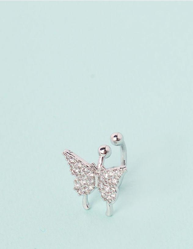 Кафа з метеликом у стразах   245693-06-XX - A-SHOP