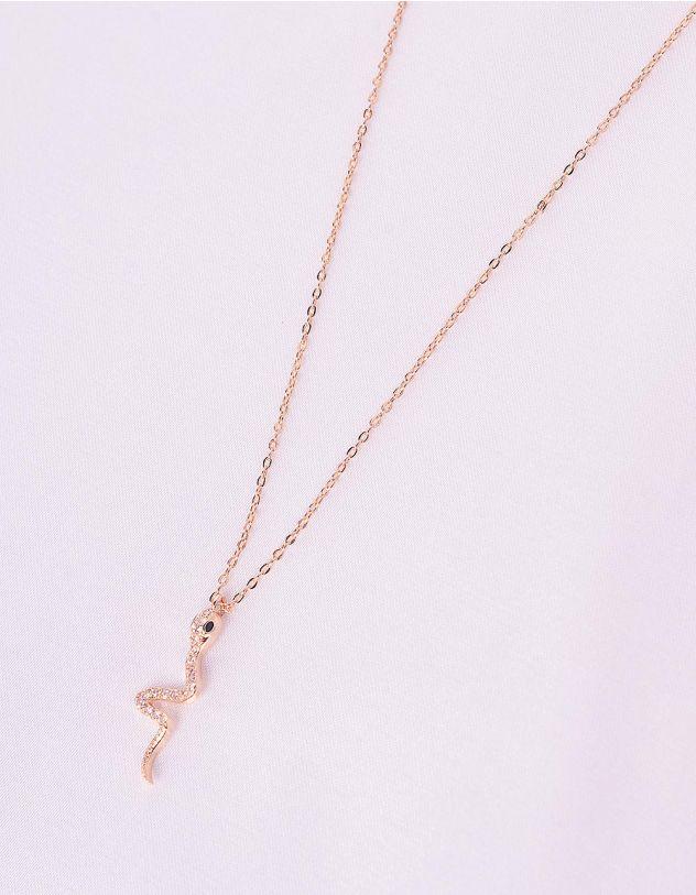 Підвіска на шию з кулоном у вигляді змії | 243049-08-XX - A-SHOP