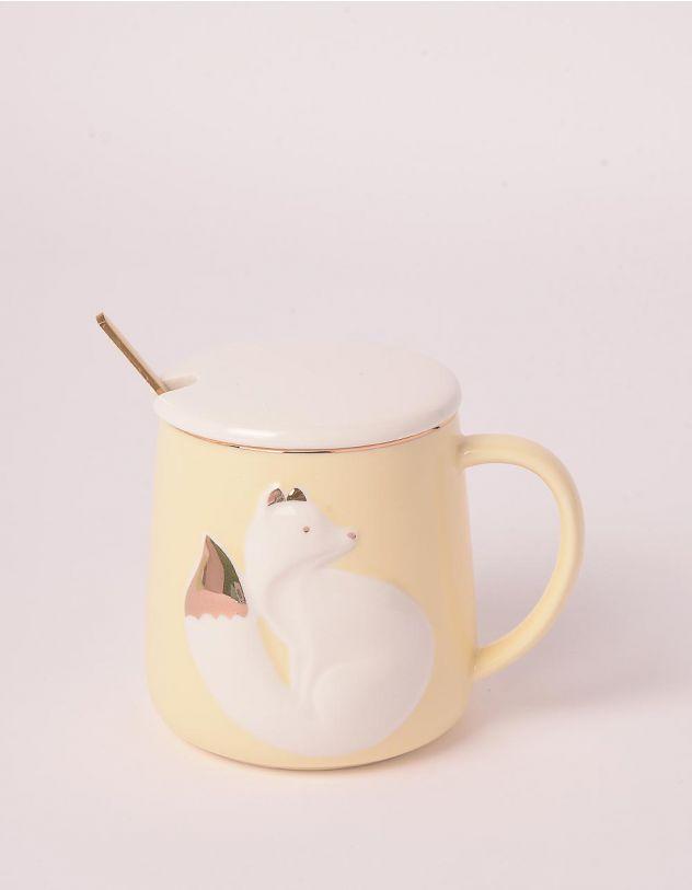 Чашка на 320мл із зображенням лисички | 247162-19-XX - A-SHOP