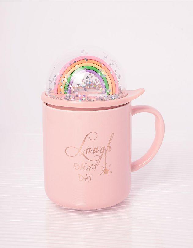 Чашка на 350мл з веселкою | 243677-14-XX - A-SHOP