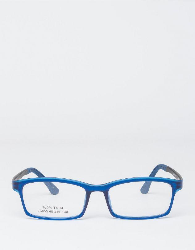 Окуляри іміджеві вузькі з кольоровою оправою | 227543-13-XX - A-SHOP