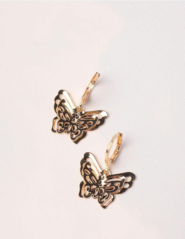 Сережки у вигляді метеликів | 246180-04-XX - A-SHOP