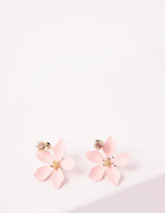 Сережки у вигляді квітів   242701-14-XX - A-SHOP