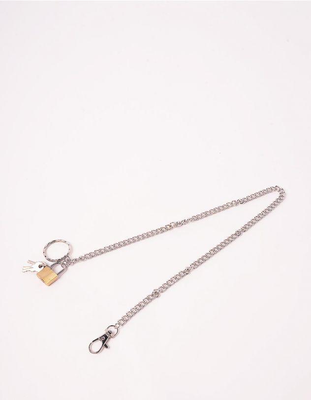 Ланцюжок для одягу з замком та ключами   244081-05-XX - A-SHOP