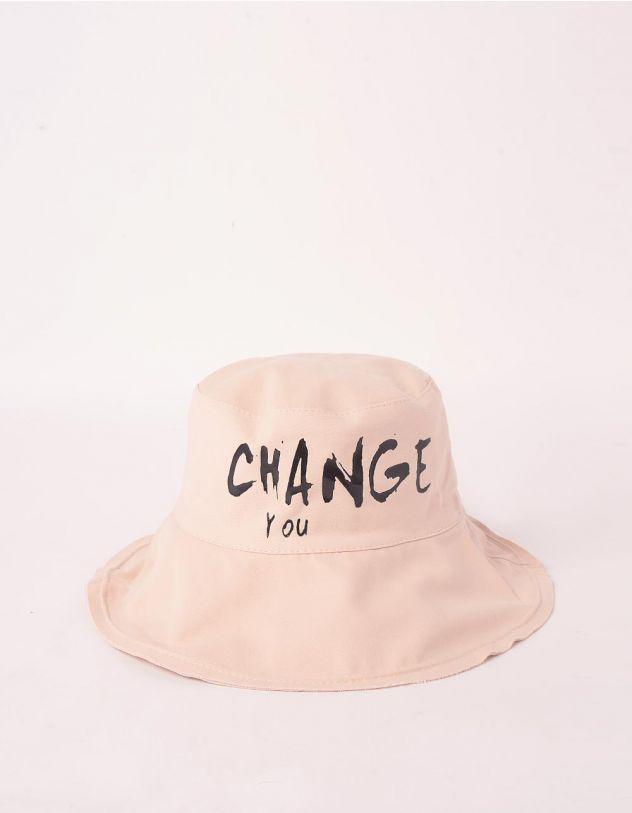 Панама з написом CHANGE YOU | 247385-22-XX - A-SHOP