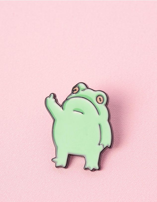 Брошка у вигляді жаби | 249297-37-XX - A-SHOP