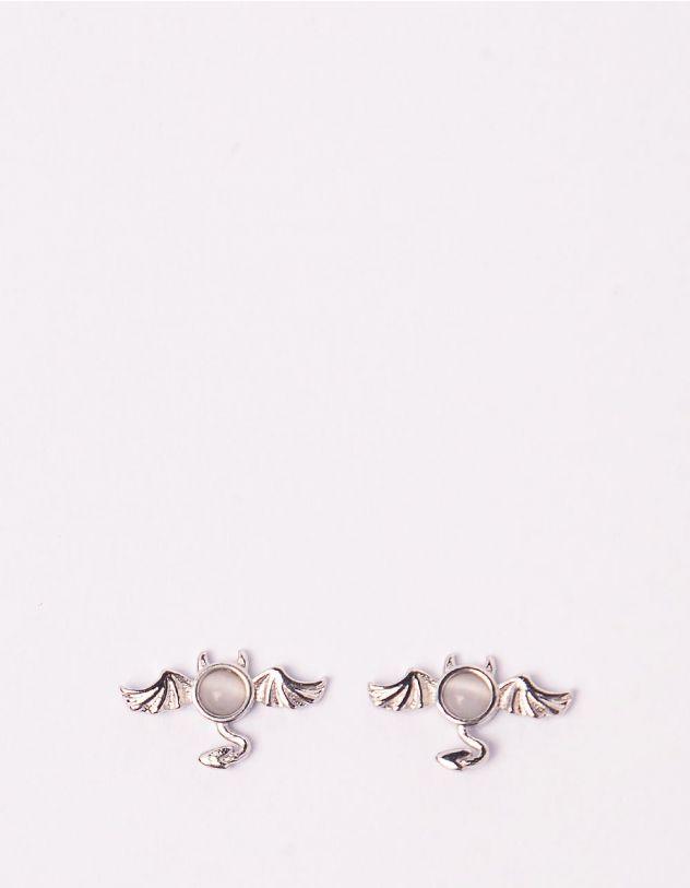 Сережки пусети у вигляді чортенят   246343-06-XX - A-SHOP
