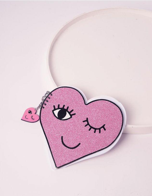Блокнот у формі серця | 240273-14-XX - A-SHOP
