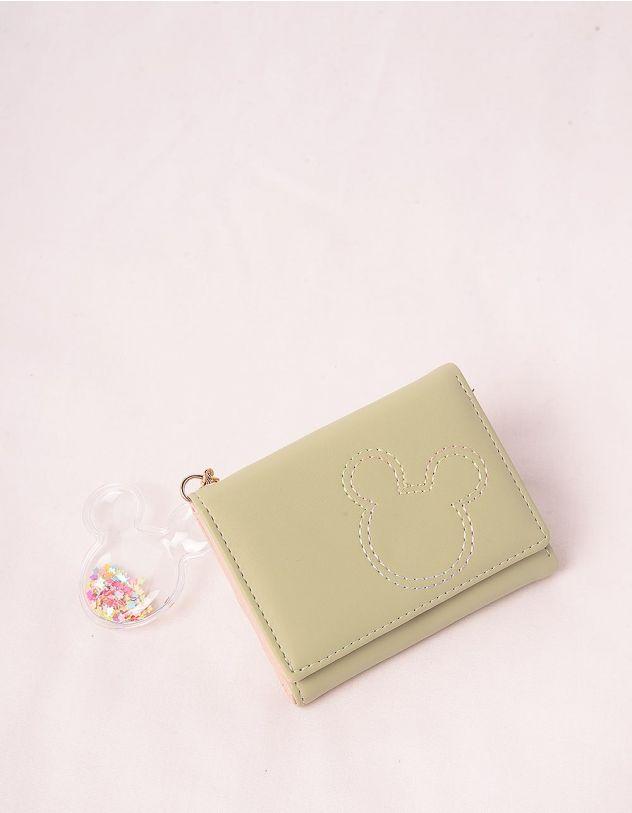 Гаманець портмоне з брелоком у вигляді Міккі Мауса | 244922-37-XX - A-SHOP