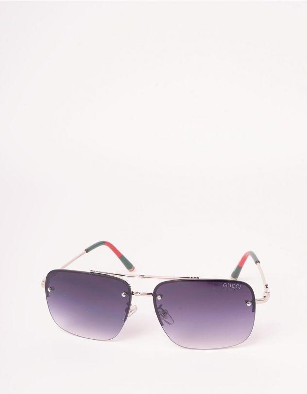 Окуляри від сонця авіатори з тонкими дужками | 248363-28-XX - A-SHOP