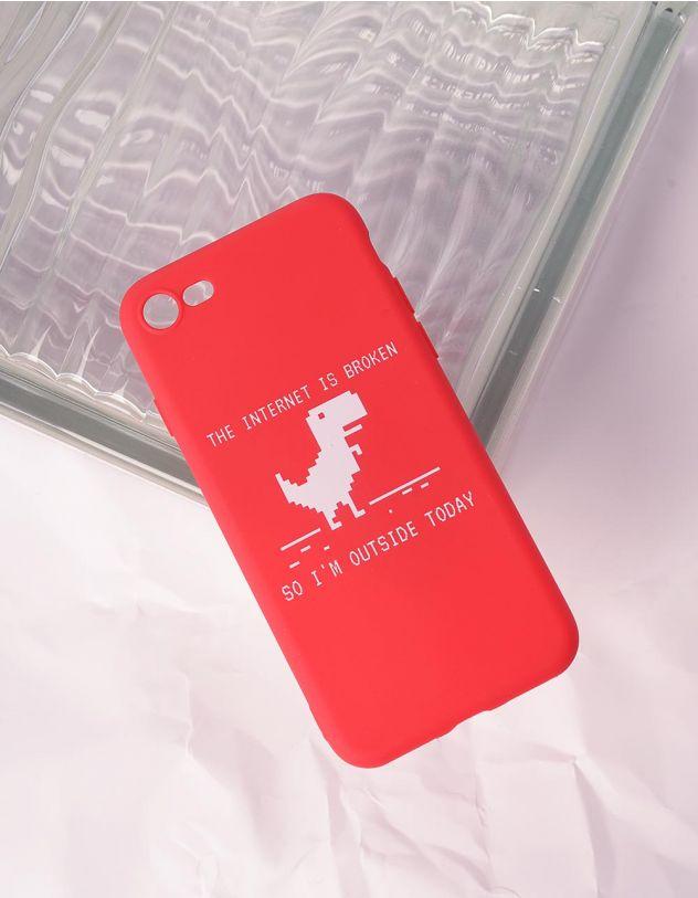 Чохол для телефону з принтом динозавра | 240758-15-56 - A-SHOP