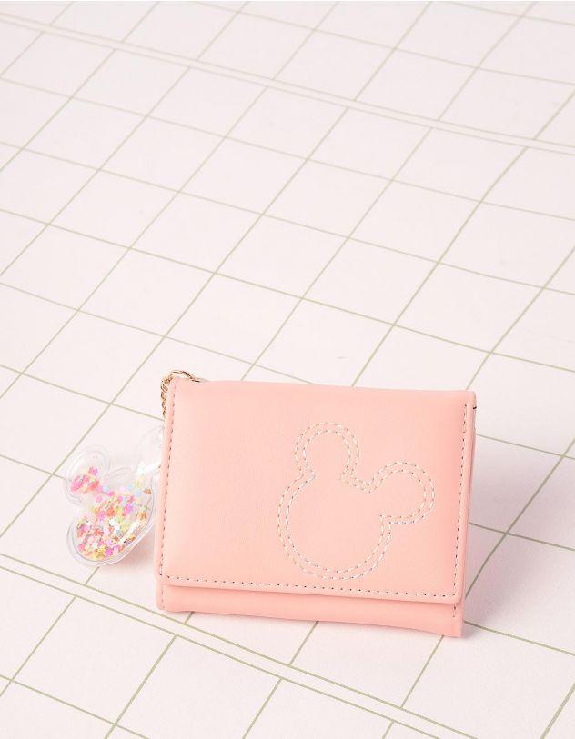 Гаманець портмоне з брелоком у вигляді Міккі Мауса | 244922-14-XX - A-SHOP