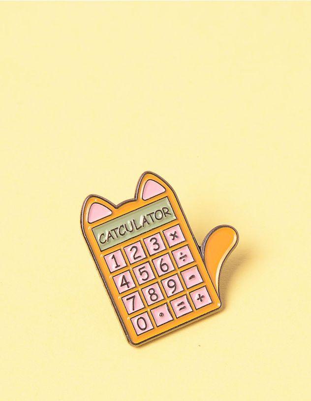 Брошка у вигляді калькулятора киці   249269-26-XX - A-SHOP
