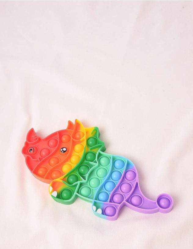 Іграшка антистрес pop it у вигляді динозавра | 248975-21-XX - A-SHOP