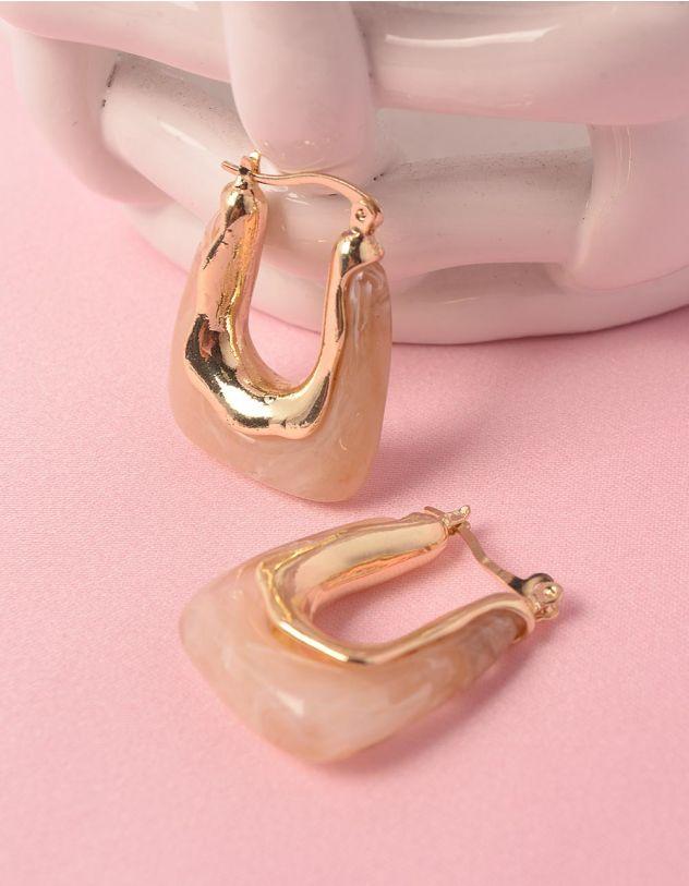 Сережки з камінням | 248475-40-XX - A-SHOP