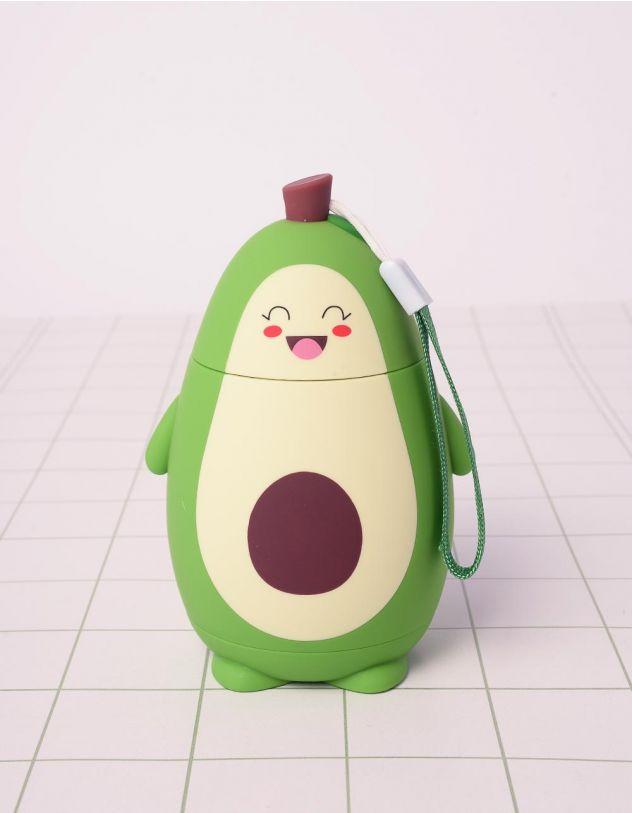 Пляшечка на 280мл у вигляді авокадо | 242004-81-XX - A-SHOP