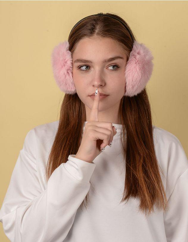 Навушники хутряні з тонкою дужкою | 234294-14-XX - A-SHOP