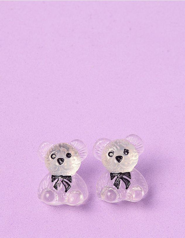 Сережки у вигляді ведмедиків   249097-01-XX - A-SHOP