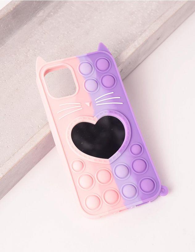 Чохол на телефон  pop it з серцем   249284-03-56 - A-SHOP