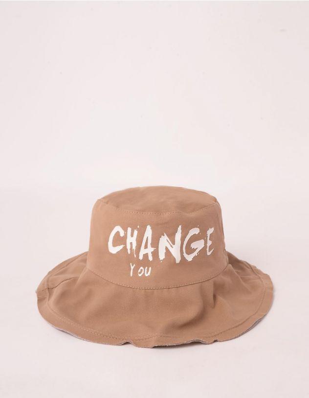 Панама з написом CHANGE YOU   247385-39-XX - A-SHOP