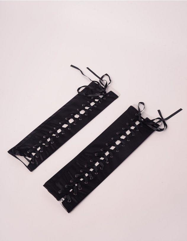 Мітенки високі на шнурівці   246848-02-XX - A-SHOP