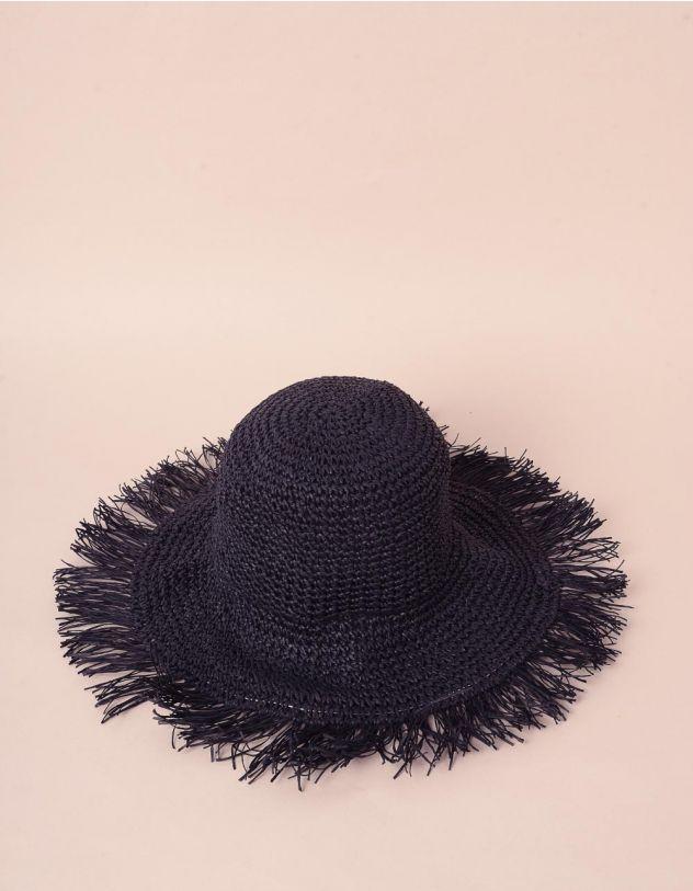 Капелюх плетений з бахромою   241587-02-XX