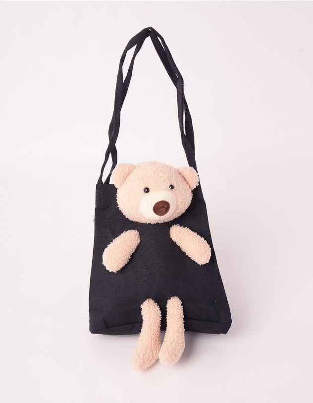 Сумка через плече з ведмедиком | 246019-02-XX - A-SHOP