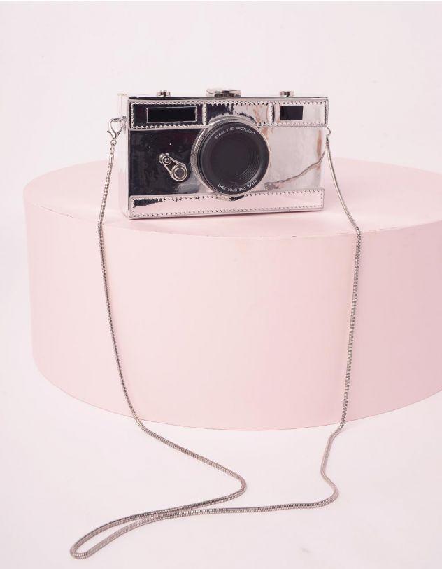 Сумка на довгому ремінці у вигляді фотоапарата | 245377-05-XX - A-SHOP