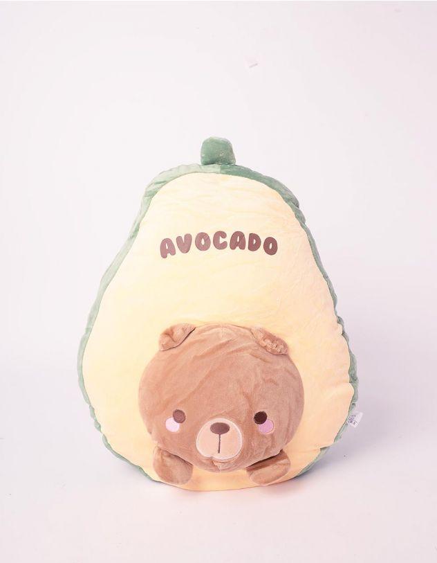 Іграшка м'яка у вигляді авокадо зі звірятком | 242417-20-XX - A-SHOP