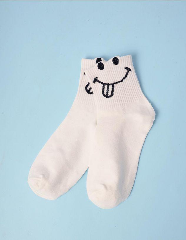 Шкарпетки зі смайликом | 243120-01-XX - A-SHOP