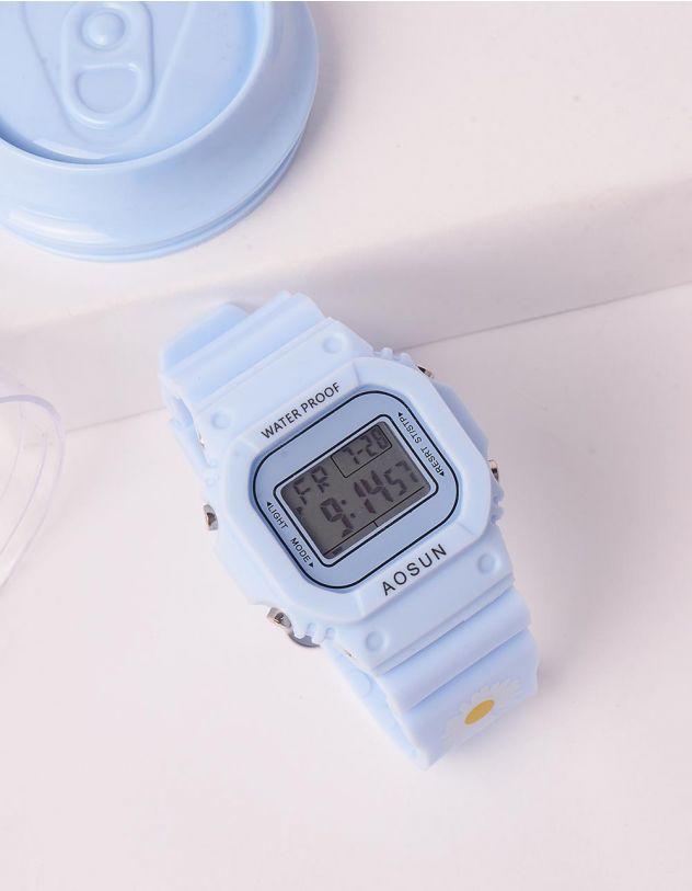 Годинник з коробкою скарбничкою з принтом ромашки | 243681-18-XX - A-SHOP