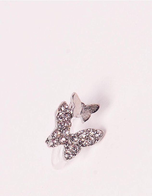 Обманка пірсинг кафа з метеликом   242544-06-XX - A-SHOP