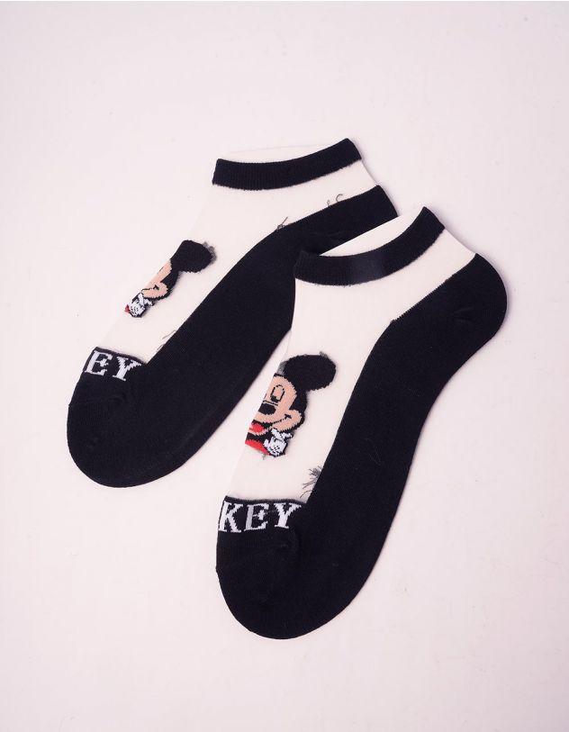 Шкарпетки з принтом Міккі Мауса | 242325-51-XX - A-SHOP