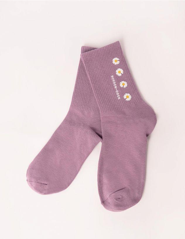 Шкарпетки з ромашками | 247619-03-XX - A-SHOP