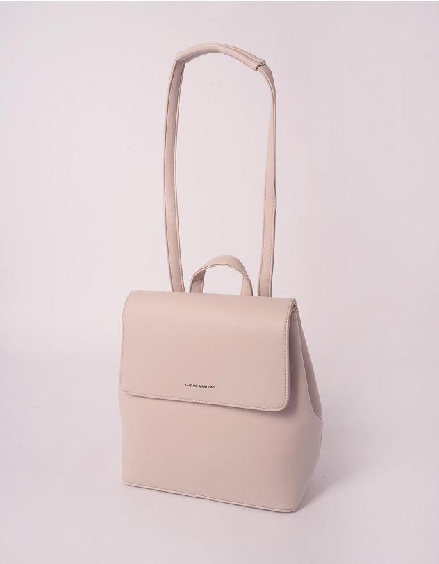 Рюкзак трансформер стильний з клапаном | 243802-40-XX - A-SHOP
