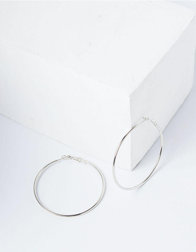 Серьги кольца средней величины | 227829-05-XX - A-SHOP