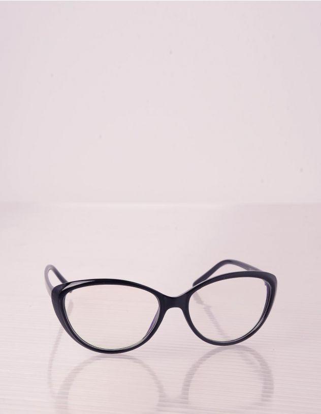 Окуляри cat eye з прозорими лінзами | 241405-02-XX - A-SHOP