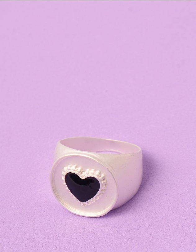 Кільце із зображенням серця | 246209-07-41 - A-SHOP