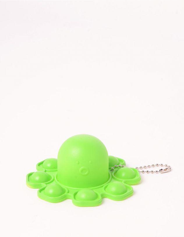 Іграшка антистрес pop it брелок у вигляді восьминога | 248968-20-XX - A-SHOP
