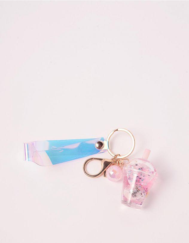 Брелок на сумку що світиться у вигляді склянки з напоєм   242908-14-XX - A-SHOP