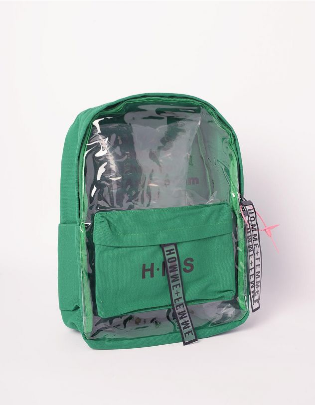 Рюкзак для міста з написом напівпрозорий | 239342-20-XX