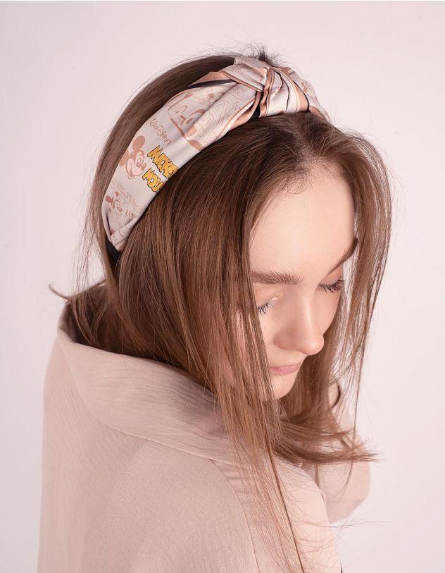 Обідок для волосся з принтом Міккі Мауса   247419-40-XX - A-SHOP