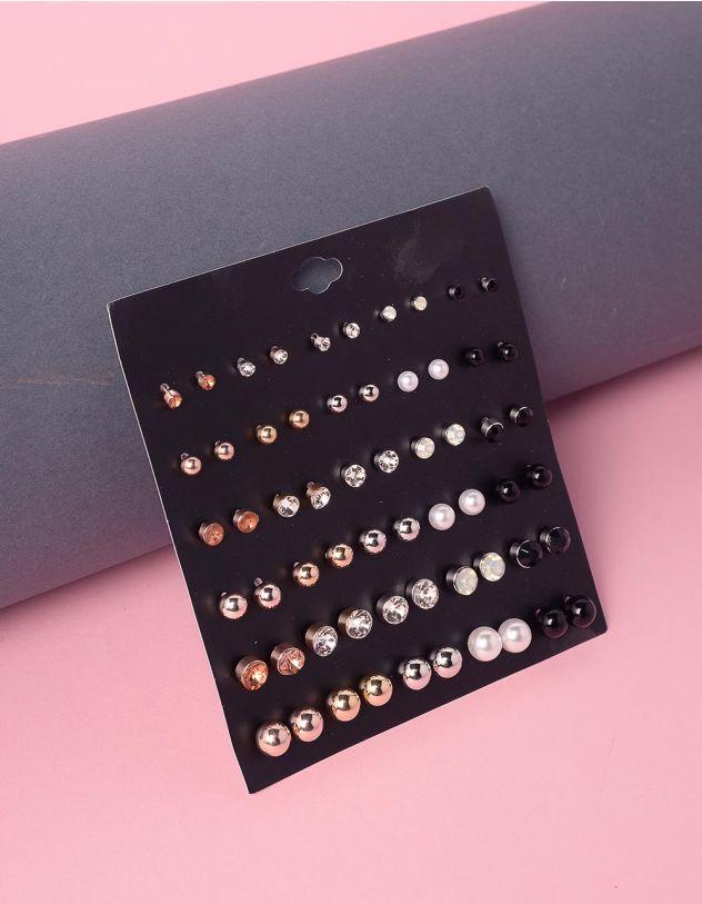 Сережки пусети у наборі | 239689-21-XX - A-SHOP