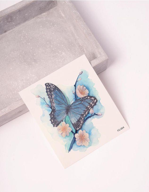 Татуювання тимчасове з принтом метелика   243407-21-XX - A-SHOP