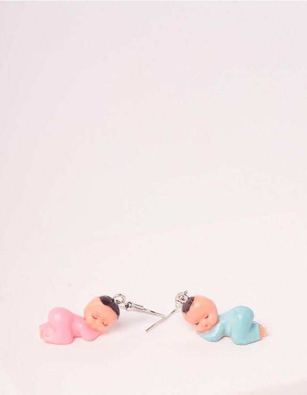 Сережки у вигляді немовлят | 247243-22-XX - A-SHOP