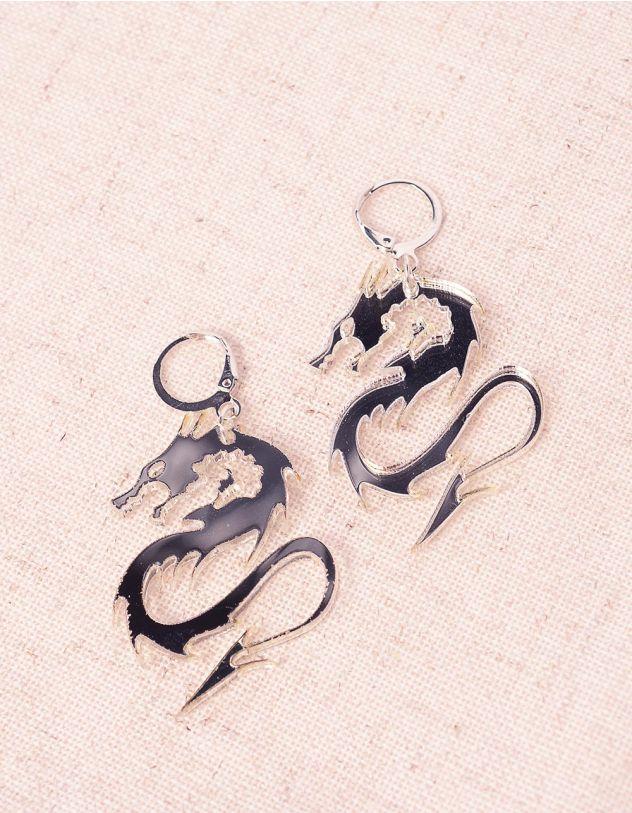 Сережки з драконами | 243880-05-XX - A-SHOP