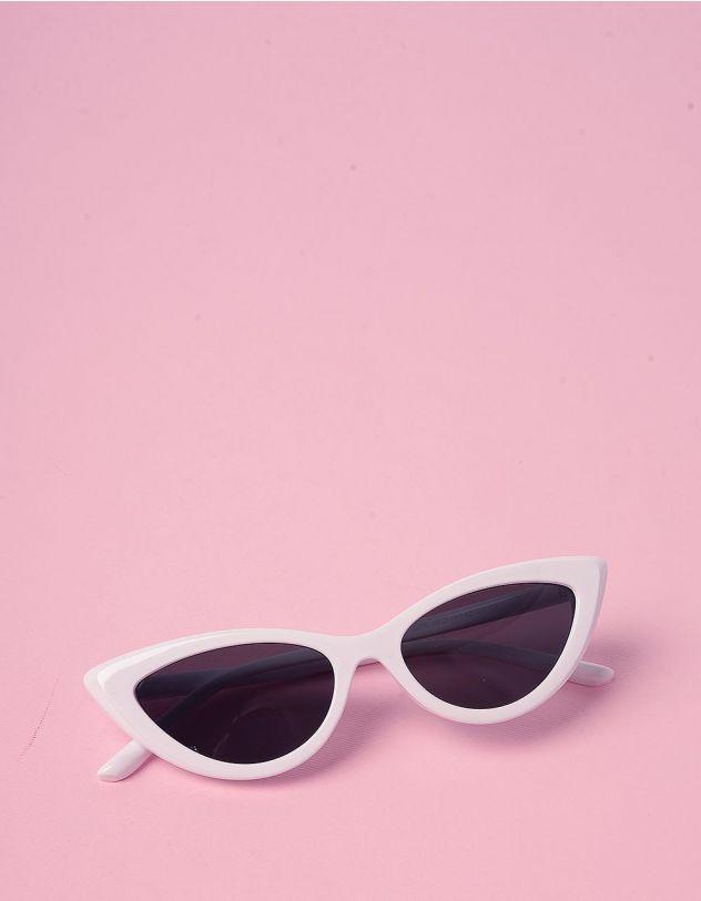 Очки cat eye узкие солнцезащитные | 229093-01-XX